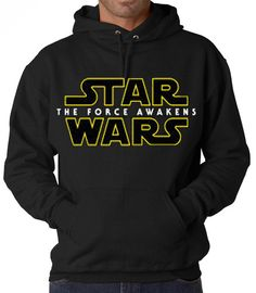 Star Wars- The Force Awakens Hooded Sweatshirt