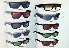 Vintage ad FAOSA Eyewear 1950s.. Buddy Holly, Esquivel, Vintage Sunglasses Frames