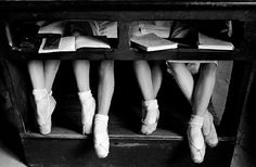 Alfred Eisenstaedt, Lesson at La Scala's Ballet School, Milan (1934).