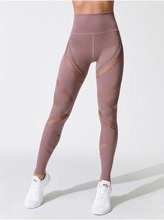 5e134c5e71411 7 Great High Waisted Yoga Pants with Mesh Panel, Premium Quality ...