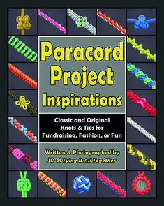 Paracord Project Inspirations (PPI) is another impressive addition to bestselling author J.D. Lenzen's growing catalog of paracording instruction books. Showcasing twenty-five carefully chosen classic
