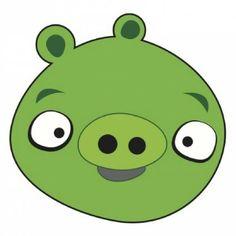 Angry Birds vector cerdo