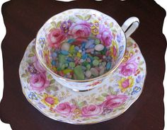Rose Teacup by teacup mosaics,