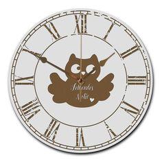 Wanduhr rund Drache aus MDF  Weiß - Das Original von Mr. & Mrs. Panda.  Eine wunderschöne runde Wanduhr aus hochwertigem MDF Holz mit goldenen Zeigern und absolut lautlosem Uhrwerk    Über unser Motiv Drache  Der Drache begeistert nicht nur kleine Jungen.    Verwendete Materialien  ##MATERIALS_DESCRIPTION##    Über Mr. & Mrs. Panda  Mr. & Mrs. Panda - das sind wir - ein junges Pärchen aus dem Norden Deutschlands. In unserer Manufaktur fertigen wir, zusammen mit unserem leidenschaftlichen…