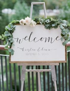 ::: Flowers by Lace and Lilies ::: Garden wedding Colorado Air Plant Protea Fall Green Muted Pastel Romantic Floral Soft Eucalyptus Monochromatic Modern White Blush Sign Flowers Garland Calligraphy Blushing Bride Rose Welcome sign Wedding Signage, Wedding Ceremony, Our Wedding, Trendy Wedding, Fall Wedding, Wedding Rustic, Ceremony Signs, Wedding Greenery, Summer Wedding Ideas