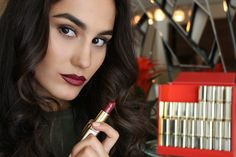 They celebrate Color Riche's 30 anniversary and the My Beauty, Beauty Makeup, Loreal Paris, Your Lips, Best Makeup Products, Plum, Lipstick, Make Up, Celebrities