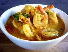 3 hungry tummies: Goan Prawn Curry, Samar Codi