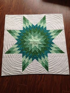 love the size and the simple quilting