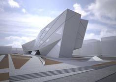 Zaha Hadid – University of Seville Library