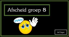 Afscheidslied groep 8 - Juf Inger First Grade, Art School, Musicals, Kids, Calm, Children, Boys, First Class, School Of Arts