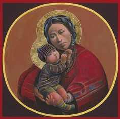 Madonna and child - Father Juan Battista Giuliani. Madonna Und Kind, Madonna And Child, Catholic Art, Catholic Saints, Religious Icons, Religious Art, Religious Paintings, Religion, Images Of Mary