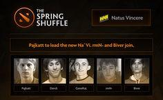 Na'Vi perkenalkan susunan pemain terbarunya! Siapa saja?