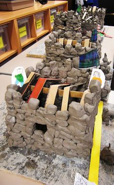 Clay Castles by maureencrosbie, via Flickr