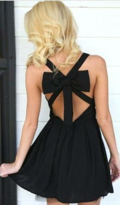 Black , bow , Best for holidays <3
