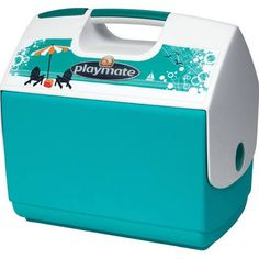 Igloo Playmate Elite with Beachside Design, Coral Green Walmart  $25 online