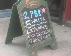 15 Hilarious Bar Signs (signs, bars, pubs) - ODDEE