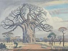 pierneef paintings - Google Search Landscape Art, Landscape Paintings, Tree Paintings, Landscapes, Baobab Tree, African Paintings, South African Artists, Art File, Naive Art