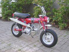 1970 Honda CT70....my first bike....