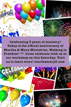 Celebrating 3 years of ministry!!