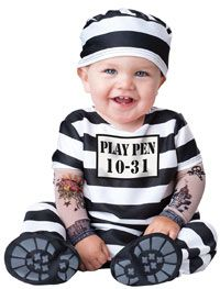 Time Out Prisoner Baby Costume - Baby Costumes