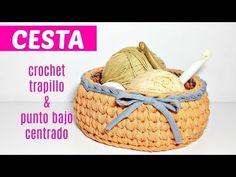 Ideas For Basket Crochet Design Crochet Socks, Crochet Yarn, Crochet Stitches, Crochet Home, Love Crochet, Easy Crochet, Knitting Videos, Crochet Videos, Cosas American Girl