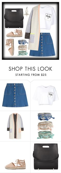 """Untitled #175"" by finderskeeper ❤ liked on Polyvore featuring HUGO, Moschino, OTTE, Bamboo and Alexander Wang"