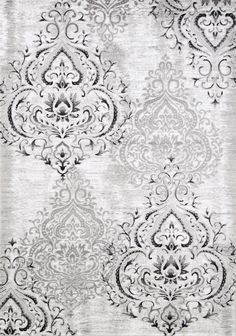Elegance and comfort are bundled together in this Platinum area rug. Shades of grey bring modern sophistication to the traditional damask design. Enjoy the feeling of curling your tired toes into the rug's incredibly soft fabric. Relax in peace thanks to the rug's durable, soil-resistant fibres and easy-to-clean surface. Make this Platinum area rug a centrepiece in your living room and reap the benefits of the beauty it adds to your family's home.