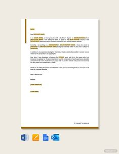 Free Simple Job Application Letter for Employment , Simple Job Application Letter, Application Letter For Employment, Motivation Letter For Job, Sample Resume Format, Job Resume, Free Pdf Books, Word Doc, Google Docs, Microsoft Word