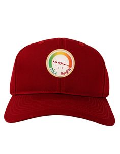 TooLoud Naughty or Nice Meter Naughty Adult Dark Baseball Cap Hat