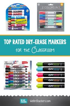 Dry-Erase Marker Showdown: Which Brand Is the Best for Classroom Use? These are a teacher's number one tool in most classrooms. Find the best dry-erase markers for every purpose, all available on Amazon. #classroom #classroomsetup #teaching #teachingresources