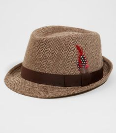 Wear this hat in a non-ironic way. Be sure to remove it indoors and in the presence of a lady.