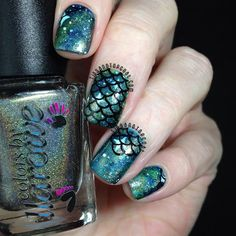 Tips and Topcoat: Colors by Llarowe Summer 2014   Mermaid Style!