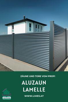 Aluzaun Lamelle Limes, Swimming Pools, Garage Doors, Outdoor Decor, Home Decor, Fence Garden, Privacy Screens, Balcony, Swiming Pool