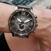 Black Models, Stainless Steel Case, Chronograph, Fossil, Quartz, Watches, Band, Modern, Accessories