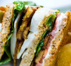 Club Sandwich (Classic Club with Tempeh Bacon)