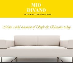 Get epitome of urban sense of comfort with inviting #Indo-ItalianCouches and #DesignerSofasInPune by Mio Divano. Contact 7028992750 for details.