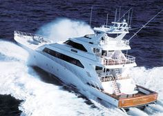 Luxury yachts,Sport-fishing super-yachts 100'-150' - All boating and marine industry manufacturers in this category