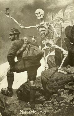 Memento mori, ca. 1940-50