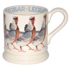 Emma Bridgewater - Legbar 1/2 Pint Mug
