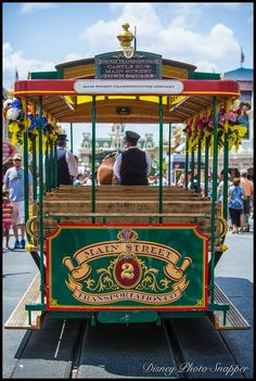 Have you ever had a ride on the Main Street Trolley?