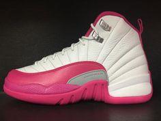 Air Jordan 12 GS 'Dynamic Pink'
