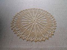 NEW Beautiful crochet doily Crochet tablecloth by VerLenCrochet