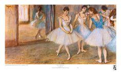 Degas - Dance Greenroom Print at eu.art.com