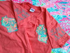 Lilly Pulitzer Fabric State Sorority by ThePinkPineappleShop, $28.99