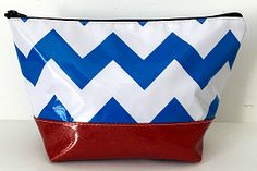 EG-Chevron Royal/Red