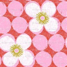 ottomanbrim - dotty flowers
