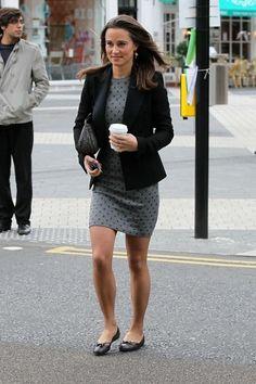 Gray Lady // Pippa Middleton