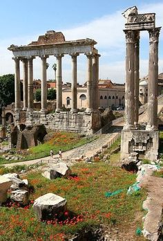 Rome...the forum I have to go back. Italy is my favorite place to go in the whole wide world. :)