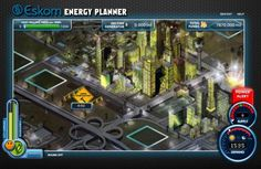 ESKOM USES VIDEO GAME TO INFORM PUBLIC ABOUT ENERGY DEMAND MANAGEMENT