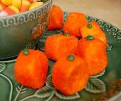 Frugal Family Fun marshmallow pumpkins